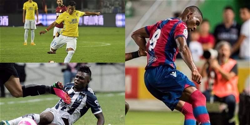 En la fila de la Selección: goles y reapariciones de los colombianos