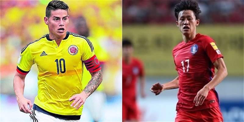 Corea del Sur confirmó amistoso contra Colombia el 10 de noviembre