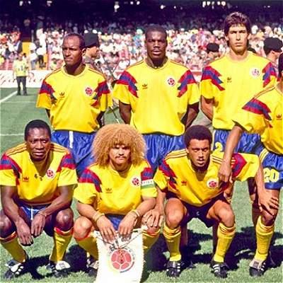 De 1990 a 2018: así ha cambiado la camiseta de la Selección Colombia