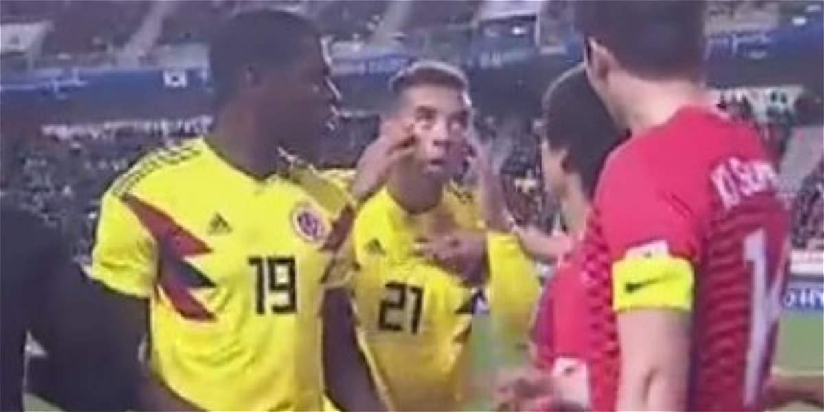 El gesto de Cardona a los jugadores de Corea del Sur: ¿Habrá sanción?