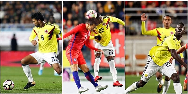 Selección Colombia ensayos