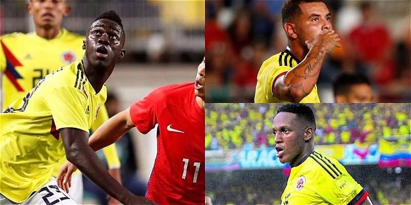 líderes de Selección Colombia