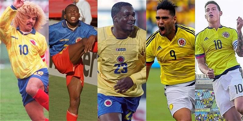 Colombianos en Mundiales