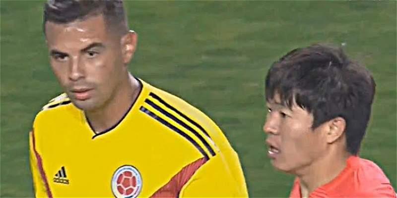 Edwin Cardona suspendido por gesto contra Corea del Sur