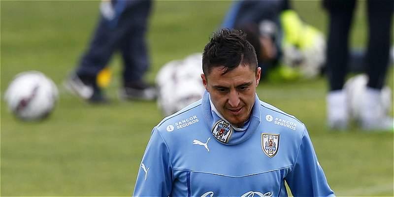 Cristian \'Cebolla\' Rodríguez se perdería el partido contra Colombia