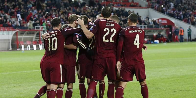 Rusia le ganó 2-0 a Montenegro y obtuvo su pase directo a la Eurocopa