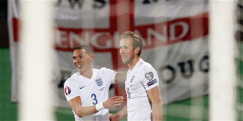 Inglaterra, ya clasificada a la Eurocopa, goleó 0-3 a Lituania
