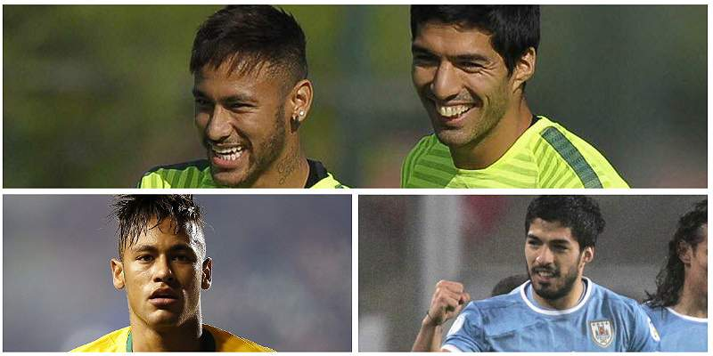 Neymar y Luis Suárez: amigos en Barcelona, rivales en la Eliminatorias
