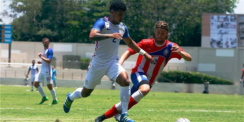 Estados Unidos, rival de Colombia en Copa, venció 1-3 a Puerto Rico