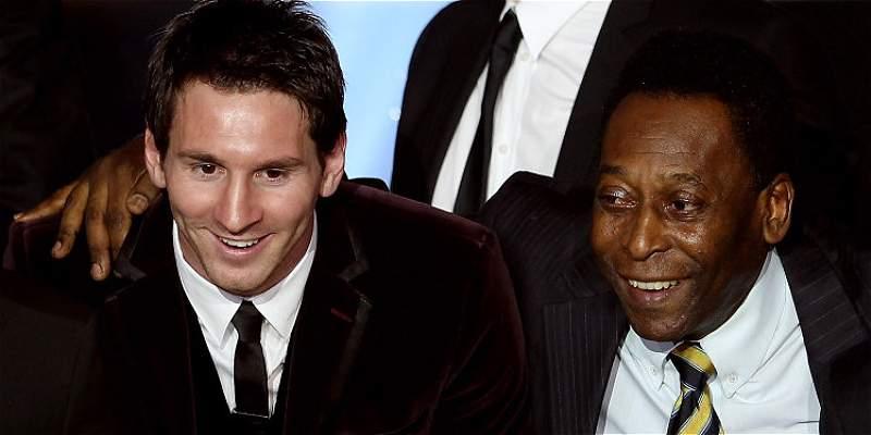 Pelé le pide a Messi que no renuncie a la selección de Argentina