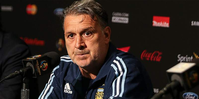 Gerardo \'Tata\' Martino renunció como DT de la Selección Argentina