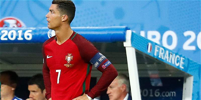 Por lesión, Cristiano Ronaldo no estará con la Selección de Portugal