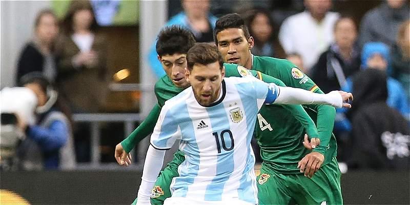 Lionel Messi vuelve a Argentina con dolencias en el aductor izquierdo