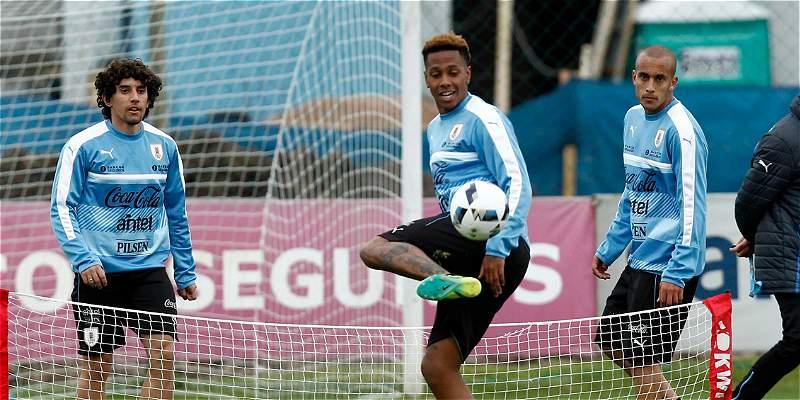 Uruguay entrenamiento Eliminatorias