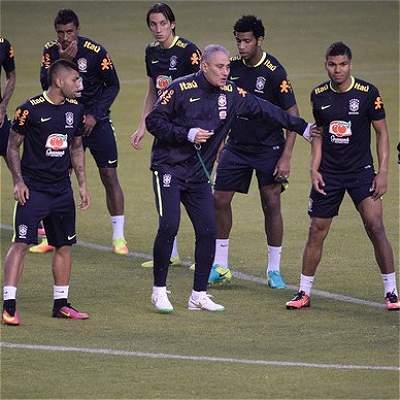 Brasil entrenamiento Quito
