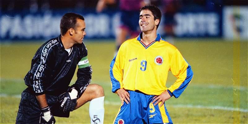 Así le fue a Dudamel en sus 7 partidos como arquero frente a Colombia