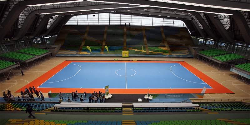 Coliseo Medellín Mundial Fútbol Sala