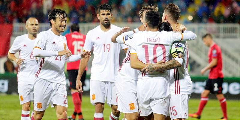 España, 23 años y 56 partidos sin perder en fases previas mundialistas