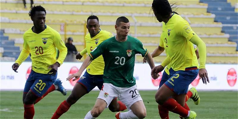 Ecuador y un agónico empate en La Paz: 2-2, sobre la hora, con Bolivia