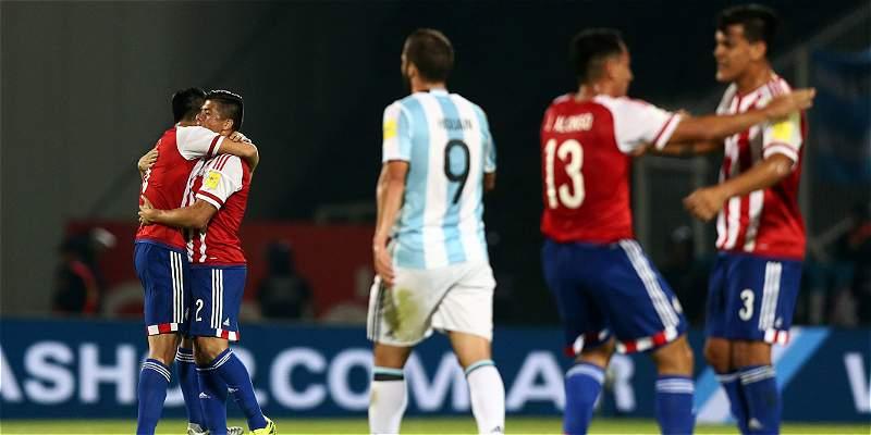 Paraguay logró un \'triunfazo\' frente a Argentina: le ganó 0-1