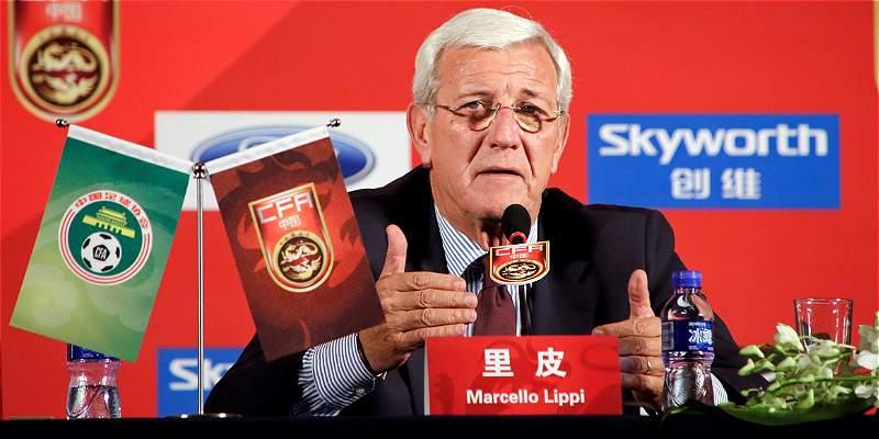 Marcelo Lippi fue nombrado nuevo entrenador de la selección de China