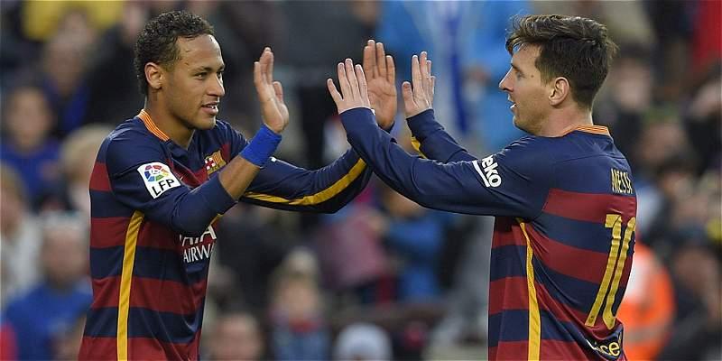 Neymar y Messi llegan a Belo Horizonte para duelo Brasil vs. Argentina