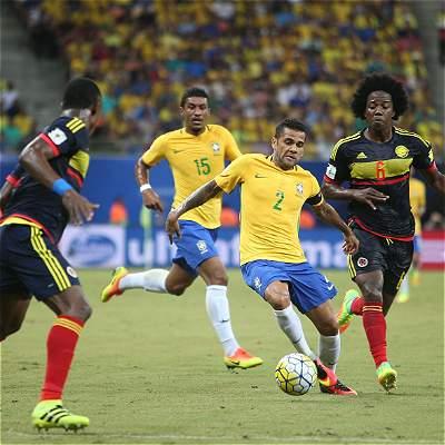Amistoso Brasil Colombia