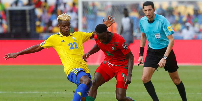 Gabón empató en el juego inaugural de la Copa Africana: 1-1 con Guinea
