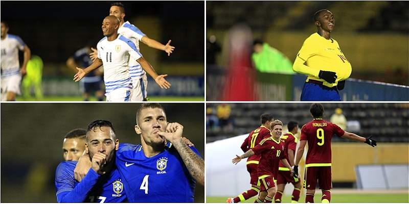 Uruguay vs. Brasil, el duelo destacado del hexagonal Sub-20