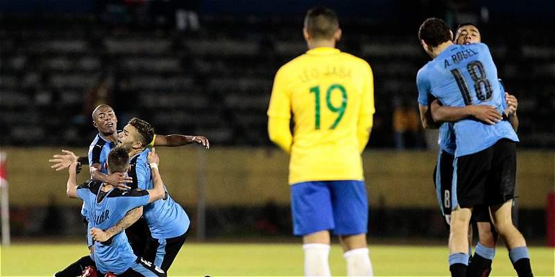 Uruguay está imparable en el Suramericano Sub-20: venció 2-1 a Brasil