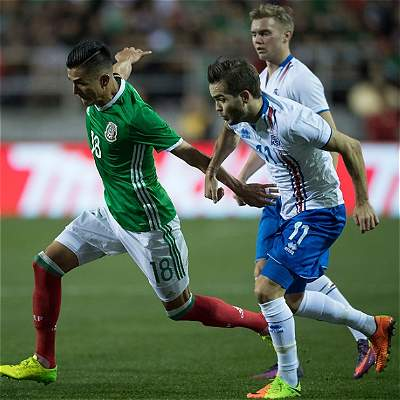 Osorio y México comenzaron con triunfo el 2017: 1-0 sobre Islandia