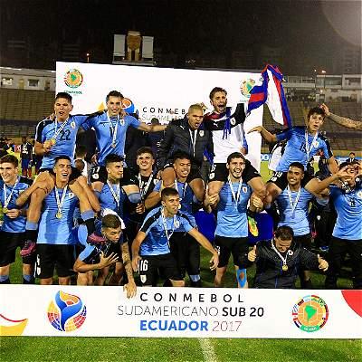 Uruguay se alzó con el título en el Suramericano Sub-20
