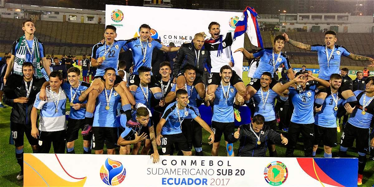 Ecuador Vs Venezuela Sub 20: Uruguay Campeón En El Suramericano Sub-20 Ecuador-2017