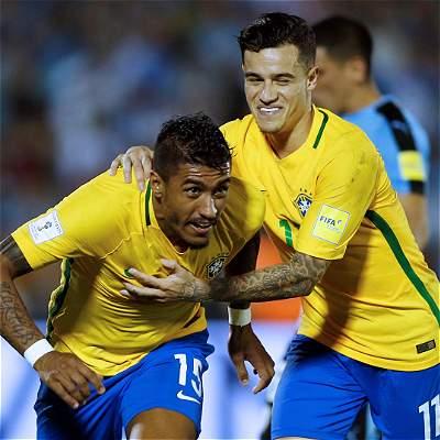 Brasil venció a Uruguay Eliminatoria Rusia 2018