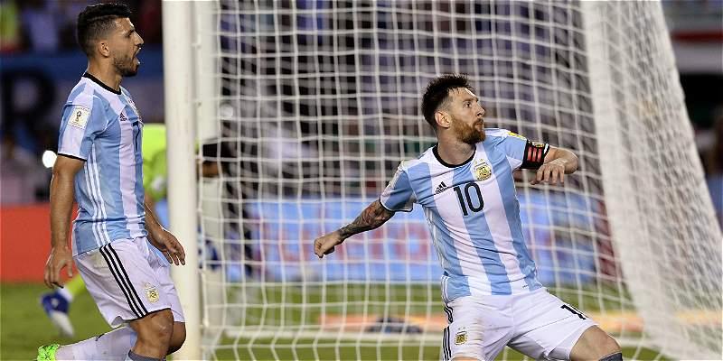Argentina ganó con lo justo pero ya está tercera: 1-0 sobre Chile