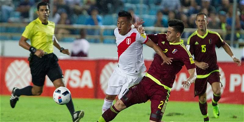 Perú sacó un valioso empate en su visita a Venezuela: 2-2 en Maturín