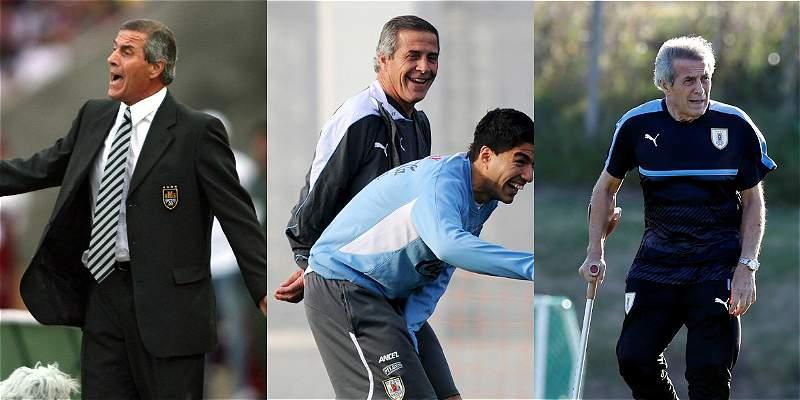 Óscar Tabárez, 168 partidos con Uruguay con más alegrías que tristezas