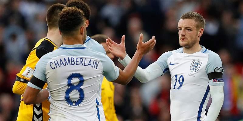 Inglaterra asentó liderato en grupo F de Eliminatoria: 2-0 a Lituania