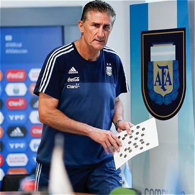 Edgardo Bauza, técnico de Argentina