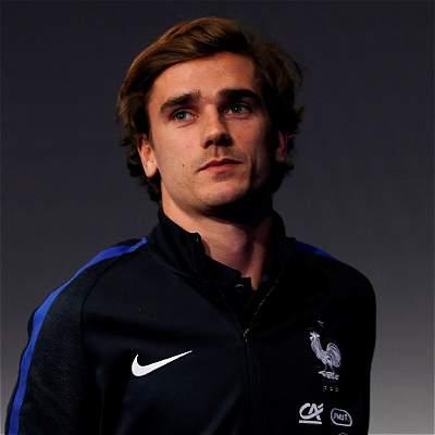 Antoine Griezmann, delantero francés