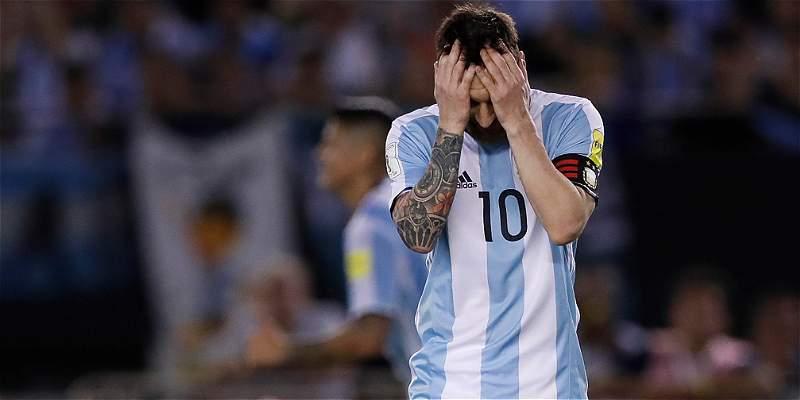 Lionel Messi, sancionado por la Fifa
