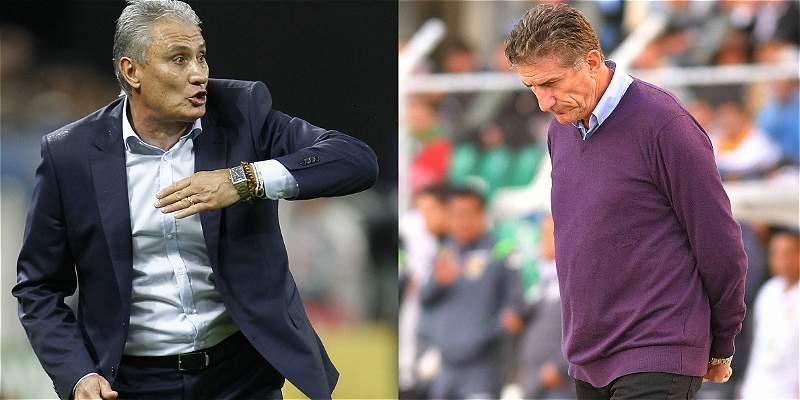 Tite y Bauza, una odiosa comparación que define a Brasil y Argentina
