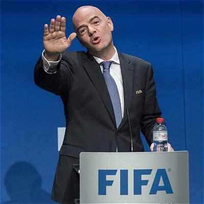 Gianni Infantino, jefe de Fifa, quiere un Mundial amplio