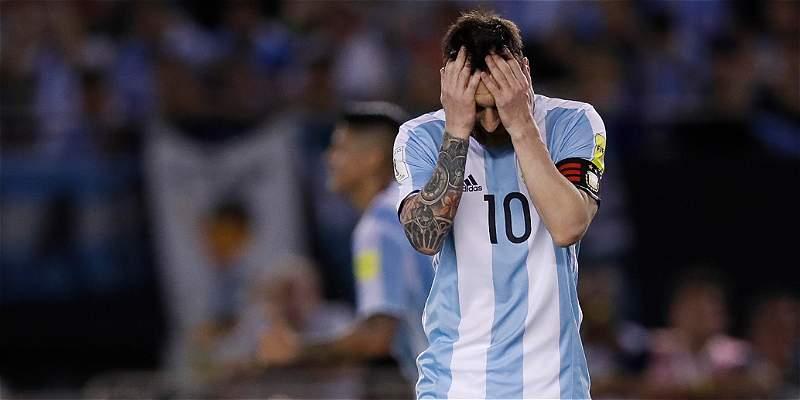 Una Argentina sin Lionel Messi, una Argentina sin rumbo