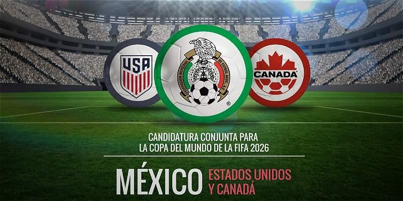 México, EE.UU. y Canadá presentan solicitud conjunta para Mundial 2026