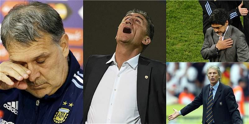 Argentina: ocho seleccionadores en trece años y ningún título