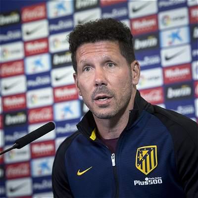 Simeone sobre Argentina: 'Estoy centrado en el partido del Atlético'