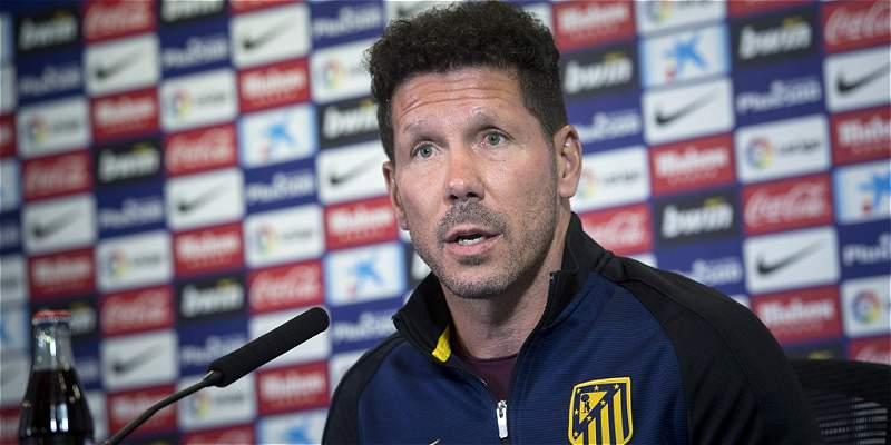Simeone sobre Argentina: \'Estoy centrado en el partido del Atlético\'