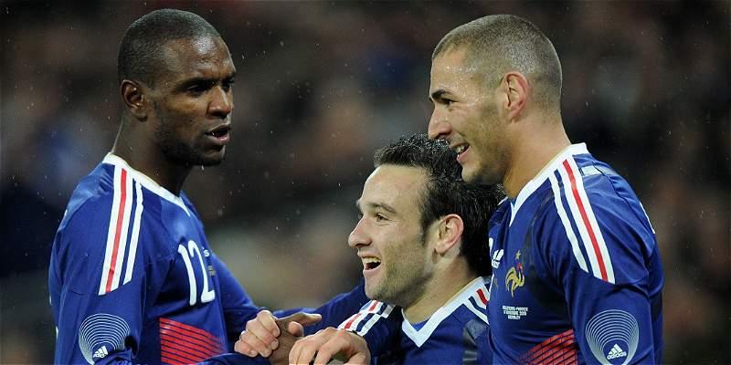 Benzema ataca a Valbuena y dice estar mejor para jugar con Francia