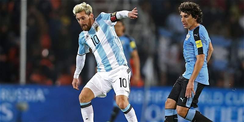 \'Uruguay prefería enfrentar a Argentina sin Messi\', dice AT de Tabárez